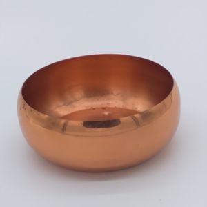 Mid Century Copper Planter / Bowl